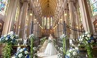 圧巻の大聖堂挙式