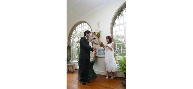 【日本では味わえない】牧師がキリンの結婚式場があるってホント!?
