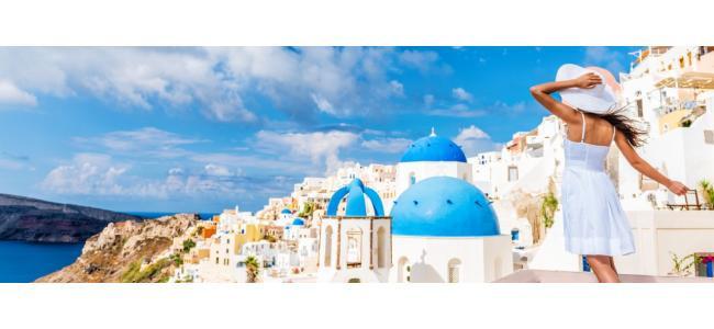 世界一美しい島「サントリーニ島」で世界一美しいウエディングを♡
