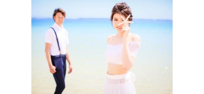 海の中に入れる特別なウエディングドレスでロケーション撮影が叶うプランが登場!
