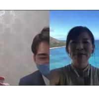 【レポート①】JTB×アールイズ・ウエディング主催『ハワイから生中継 オンラインチャペルツアー』