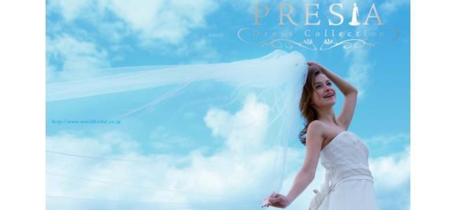 新作ウエディングドレスが50デザイン同時発売!