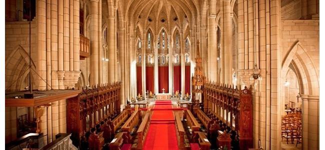 羨望のロイヤルウエディング!荘厳な大聖堂が新登場。