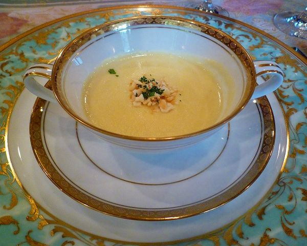 【スープ】さつま芋のポタージュ