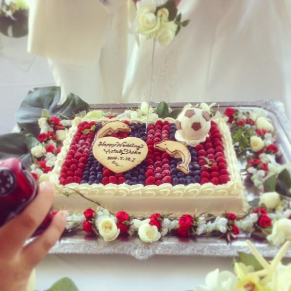 ケーキもイルカ