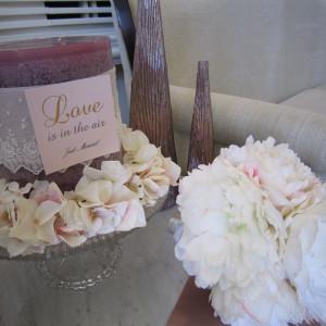 ロビーの装花|317359さんのアーヴェリール迎賓館(岡山)の写真(10483)