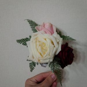 バラのブートニア 335765さんのCasa Noble OSEIRYUの写真(428943)