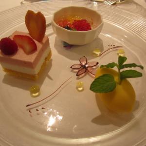 デザート3種 338374さんのフランス料理店 ラ・ロシェル福岡の写真(18186)