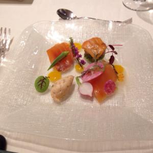 前菜料理 343098さんのフランス料理店 ラ・ロシェル福岡の写真(315251)