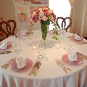 テーブルコーディネイトの一例|345448さんのヴィラ・デ・マリアージュ長野の写真(32079)