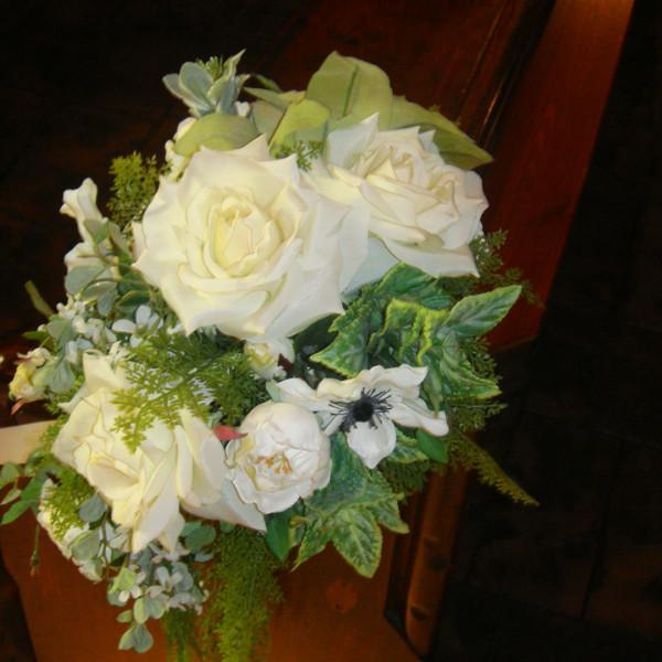 チャペル内の装花
