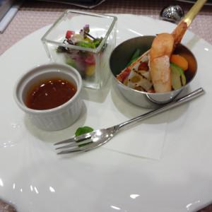 冷前菜|357225さんのベイサイド迎賓館(横浜みなとみらい)(ウエディング取扱終了)の写真(60237)
