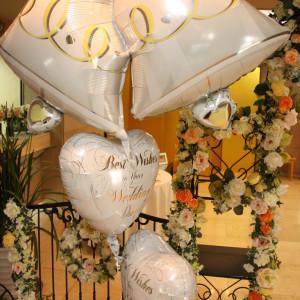 ロビーでのウェルカムグッズの風船|358994さんの道後温泉 ホテル花ゆづきの写真(63309)
