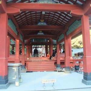 舞殿での挙式の様子|362818さんの鶴岡八幡宮(チアーズブライダルプロデュース)の写真(75629)