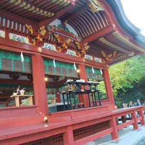 舞殿|362818さんの鶴岡八幡宮(チアーズブライダルプロデュース)の写真(75664)