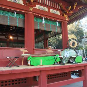 舞殿|362818さんの鶴岡八幡宮(チアーズブライダルプロデュース)の写真(75641)