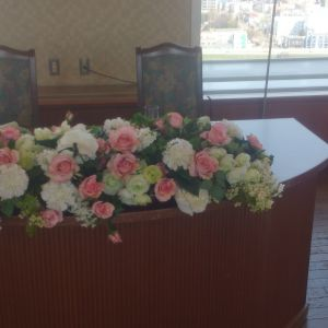 高砂席装花|365843さんのホテル ライフォート札幌の写真(142366)