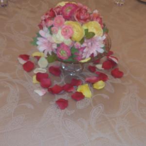 テーブル装花1|365843さんのホテル ライフォート札幌の写真(142378)