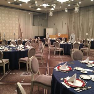 広い披露宴会場で天井も高かったです 366644さんの千里阪急ホテルの写真(630738)