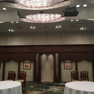 シャンデリアもあってホテルならではな雰囲気でした 366644さんの千里阪急ホテルの写真(630749)