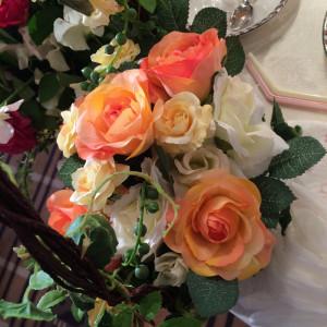 新婦がもっていたお花|367473さんのミラノ・サローネ アネックスの写真(111947)