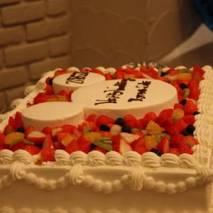 ウェディングケーキ|368564さんのスイート&グレイス プライベートガーデンの写真(104684)