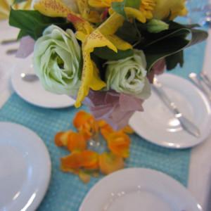 夏っぽいテーブルコーディネート|369454さんのボン・マリアージュ 多治見の写真(110061)