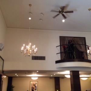 天井高の披露宴会場|371215さんのスタイリッシュウェディング ヴィーナスコート長野の写真(140121)