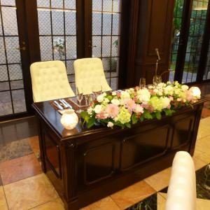 新郎新婦席 373500さんの迎賓館ヴィクトリア金沢の写真(130522)
