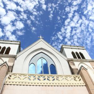 チャペル外観|374090さんの聖ラファエル教会(岐阜)の写真(168507)