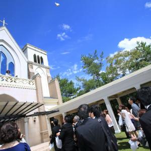 チャペル外観|374090さんの聖ラファエル教会(岐阜)の写真(168510)
