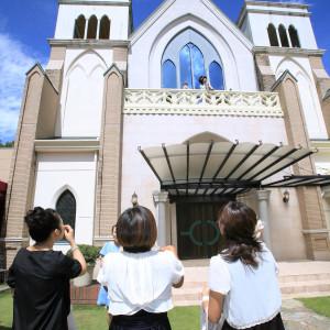 チャペル外観|374090さんの聖ラファエル教会(岐阜)の写真(168513)