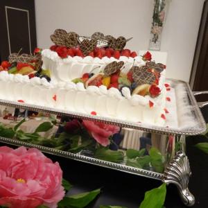 ウェディングケーキです。|374816さんのホテル金沢の写真(135833)