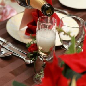 乾杯のシャンパン☆|375883さんのベイサイド迎賓館(横浜みなとみらい)(ウエディング取扱終了)の写真(144302)