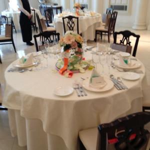 テーブル 376666さんのベイサイド迎賓館(横浜みなとみらい)(ウエディング取扱終了)の写真(147528)