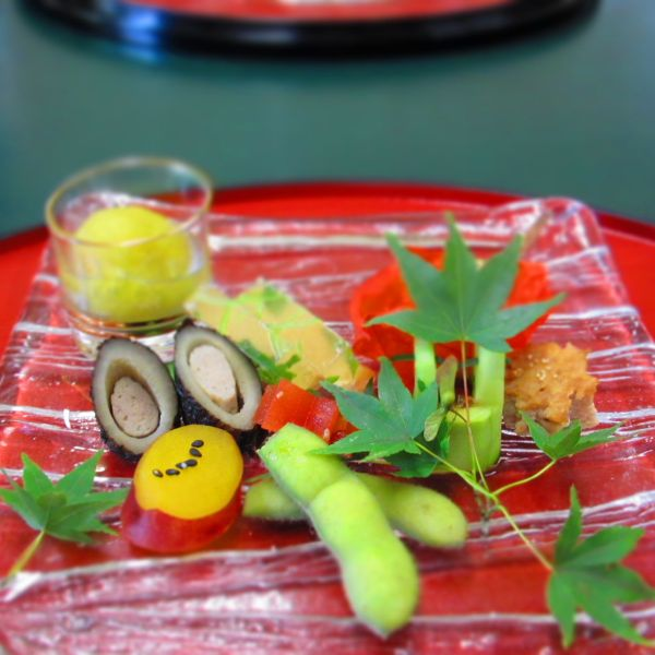 松尾大社隣の披露宴会場「とりよね」の料理