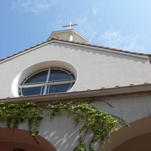 チャペル外観|377025さんの神戸北野教会の写真(150890)