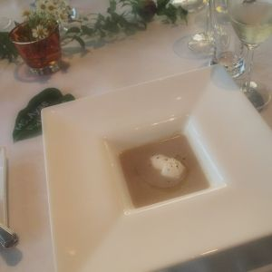 マッシュルームのスープ|377206さんのRestaurant CARESSの写真(151986)