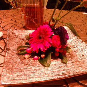 テーブルの花|389108さんのJASMAC PLAZA(ジャスマック プラザ)の写真(224931)