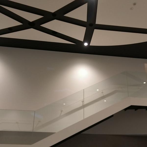 会場内にある大階段
