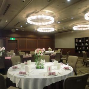 テーブルコーディネートも落ち着いた雰囲気|397085さんの甲府富士屋ホテルの写真(218041)