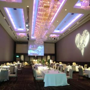 照明がきれいな会場 397085さんの甲府富士屋ホテルの写真(218043)