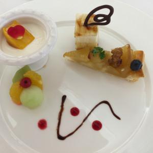フェアでの料理(デザート)|399532さんのグランラセーレシエロの写真(250375)