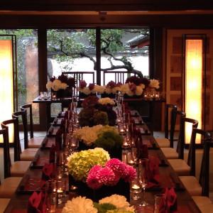 披露宴会場もお庭に面しているので雰囲気はとても良いです。|404146さんのThe Goyashiki 郷屋敷(国指定登録有形文化財)の写真(234219)