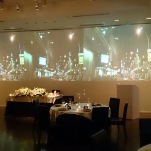 テアトル・シエル・デ・トワールの巨大3面スクリーン|405091さんのヴィラ・デ・マリアージュ長野の写真(235672)