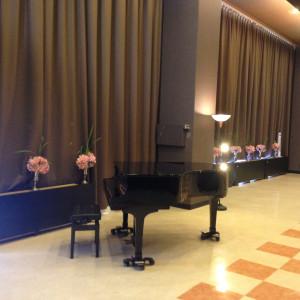 披露宴会場のピアノ|405828さんのパル法円坂の写真(325000)