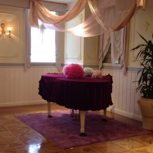 会場にピアノがある 408671さんのオンリーワンウエディング サンパレスの写真(266995)