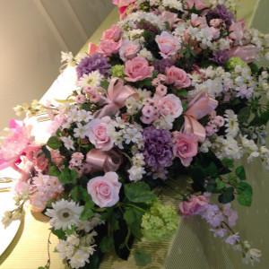 メイン装花|408671さんのオンリーワンウエディング サンパレスの写真(267013)