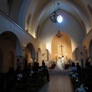 まるで海外の教会にいるかのようです|412053さんのヴィラ・デ・マリアージュ 太田の写真(262840)