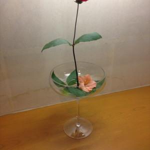 ラウンジ装花|412932さんの和多屋別荘 The Cotton Clubの写真(268610)